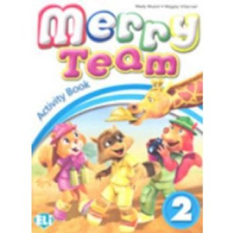 Merry Team - Activity Book + Audio CD 2