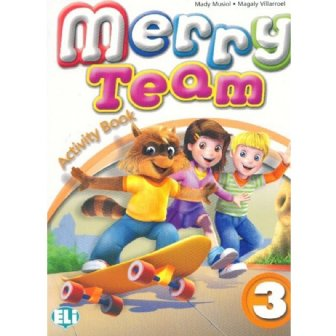 Merry Team - Activity Book + Audio CD 3