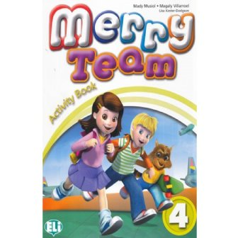 Merry Team - Activity Book + Audio CD 4