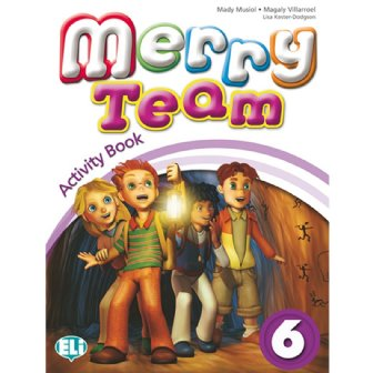 Merry Team - Activity Book + Audio CD 6