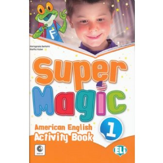 Super Magic Activity Book-full colour + Audio CD 1