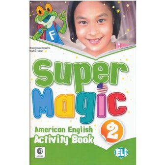 Super Magic Activity Book-full colour + Audio CD 2