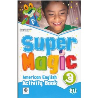 Super Magic Activity Book-full colour + Audio CD 3