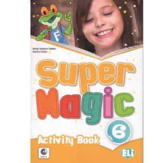 Super Magic Activity Book-full colour + Audio CD 6
